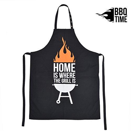 BBQ Time Delantal de Barbacoa