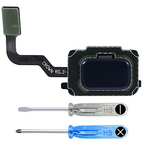MMOBIEL Home Button Fingerprint Touch Sensor Flex (Ocean Blue) Compatible with Samsung Galaxy Note 9 N960 incl Tools