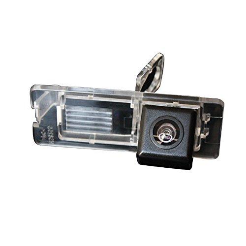 Navinio Telecamere posteriori in luce targa ( NTSC ) Nero per Fluence/Duster Latitude scenic2/3 Megane 2 Megane 3/Cabrio/Clio 3 4 III IV/ Terrano/Lutecia/Espace 4