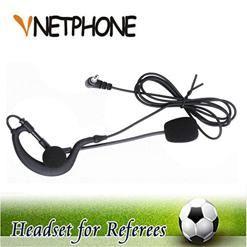 VNETPHONE árbitro micrófono auriculares earhook Para Fútbol Partido de fútbol de trabajo con VNETPHONE motocicleta de comunicación de V4V63,5mm