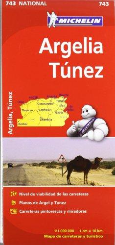Mapa National Argelia Túnez (Mapas National Michelin)