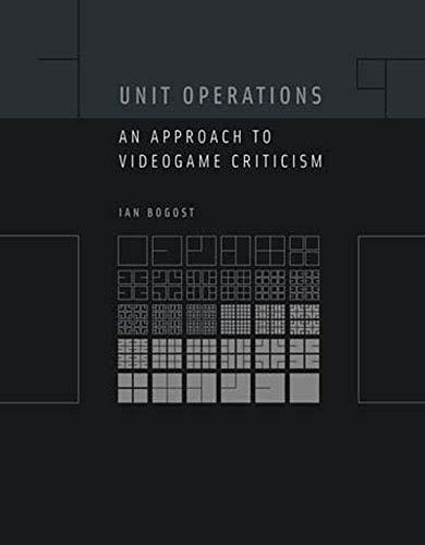 Unit Operations:...