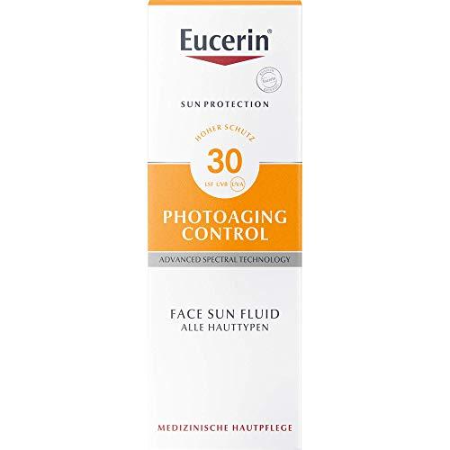 Eucerin Photoaging Control Face Sun Fluid LSF 30, 50 ml Lösung