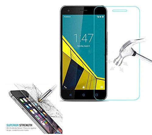 Protector de pantalla para Vodafone Smart Prime 7/VDF600 Protector de pantalla de cristal templado anti rasguños HD transparente 9H a prueba de roturas, por DEET®