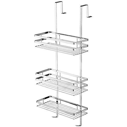 SAILUN étagère suspendu en acier inoxydable étagères chromée de salle de bain pour la cabine de douche , hygiénique, étagère de douche 3 étages à suspendre
