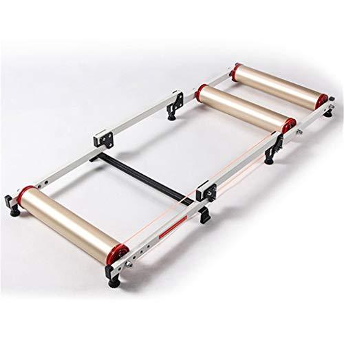 Zhangxiaowei Portable Indoor Trainer 16-29 Inch Bicycle Rollers Roller Belt Bracket Aluminum Alloy...