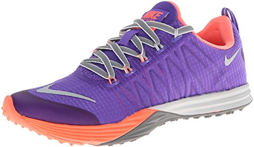 Nike - Wmns Lunar Cross Element - 653528500 - El Color: De Color Naranja-Violeta - Talla: 36.0