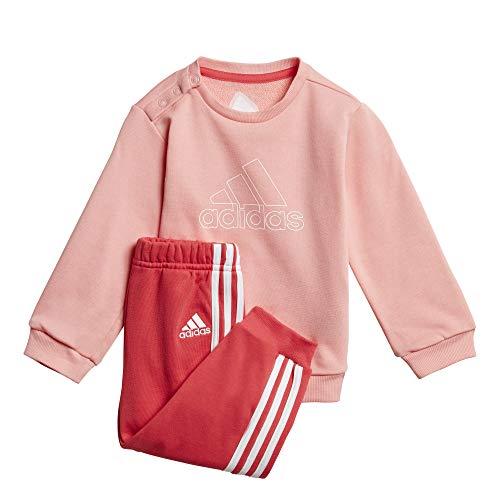 adidas I Dmh Logo Sportanzug Chándal Infantil, Unisex bebé, Color Blanco, 98
