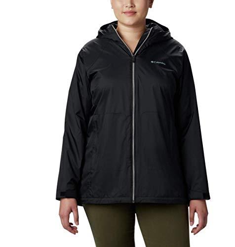 Columbia Women's Switchback Lined Long Jacket, Black, Large