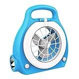 MUMUMI Fans, Mini Fan, Modern Hogar Mini Onlineless Portable 2,Azul