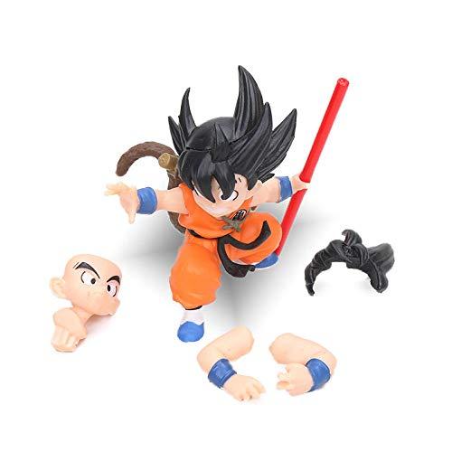 CXNY Mini 8cm Dragon Ball Z Kai Son Goku Gokou PVC Figura de