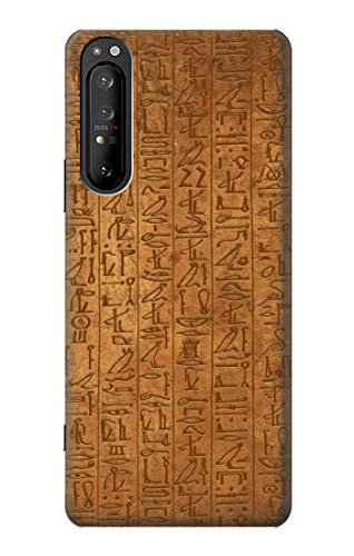 R2805 Egyptian Hierogylphics Papyrus of ANI Case Cover for Sony Xperia 1 II