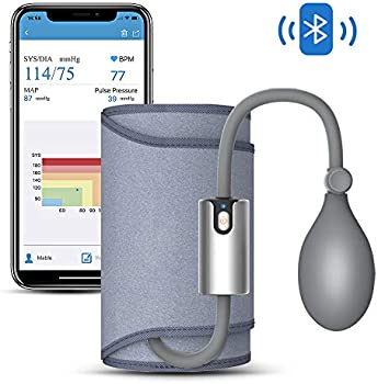 Wellue AirBP Upper Arm Bluetooth Blood Pressure Monitor