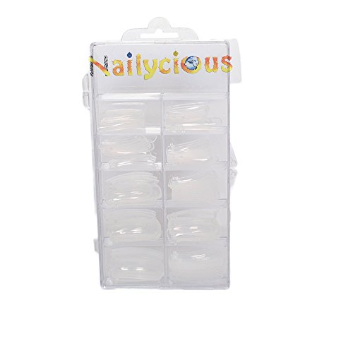 Dual-System-Nagelformen für perfekte Acryl-Nagelmodelage, 120 Stück pro Box