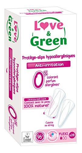 Love & Green Protège-slips Flexi x 28 - Lot de 4