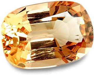 【鑑別付】天然 インペリアルトパーズ 1.567ct オレンジ ピンク トパーズ インペリアル ルース 原石 宝石 裸石 ナチュラルストーン ジェムストーン【加工承ります】