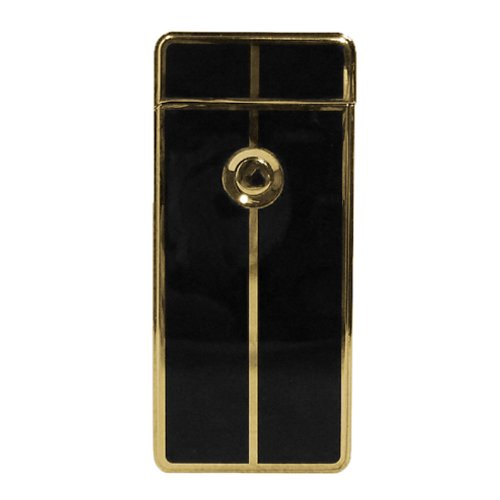 Tycoon Arc Lighter USB-aansteker, cross goud