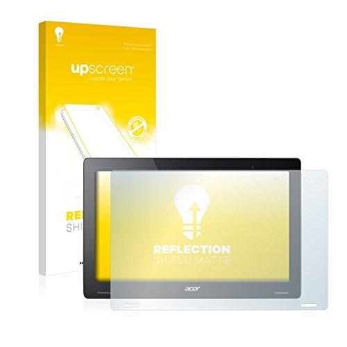 upscreen Entspiegelungs-Schutzfolie kompatibel mit Acer Aspire Switch 12 S – Anti-Reflex Bildschirmschutz-Folie Matt