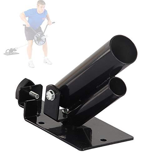 T Bar Row Landmine Grappler, Inserto per Fila T-Bar Nero, Bilanciere Girevole A 360 Gradi, Esercizi per La Parte Superiore del Corpo - Esercizi per Spalle E Schiena