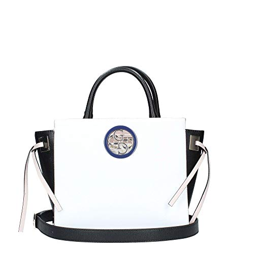 Guess OPEN ROAD SOCIETY SATCHEL WML WHITE MULTI