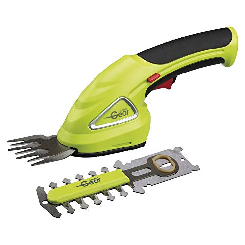 Garden Gear Hedge Trimming Cordless Shears Lightweight Handheld 3.6V with 80mm Cutting Blade