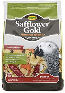 Higgins 466121 Safflower Gold For Parrots - 3 Pound