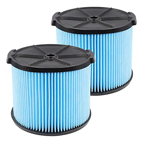 VF3500 Replacement 3-Layer Filter Compatible with rigid VF3500 3-4.5 Gallon Vacuum Cleaner WD4050 WD4070 WD4522, 2 PACK