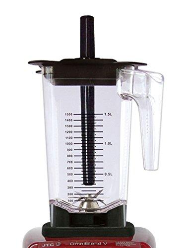 Behälter JTC Omniblend Ersatzbehälter Saro Tom BPA frei 1,5 Liter Komplett