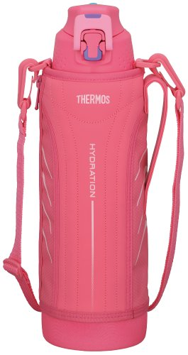 Japanese THERMOS Vacuum Insulation Sports Cool Bottle 1.5L Pink FFZ-1500F
