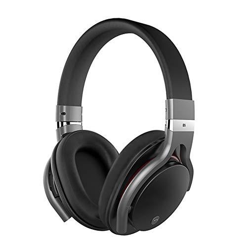 XIEXJ Bluetooth-Headset, Unisexsport Laufen Musik-Karte/Doppel Headset/Subwoofer/Beantworten Von Telefon-Kopfhörer,Schwarz