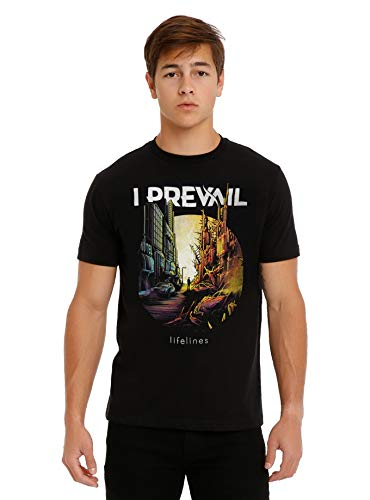 Fashion Mens T Shirt Funny T Shirts I Prevail Lifelines Cover T Shirt Men Casual Shirt