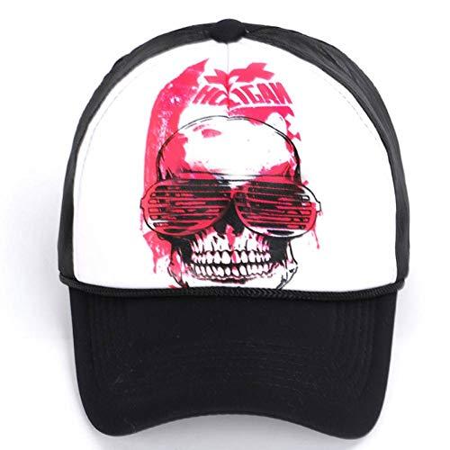 CXKNP Gorra De Beisbol Skull Net Cap Duck Tongue Baseball...
