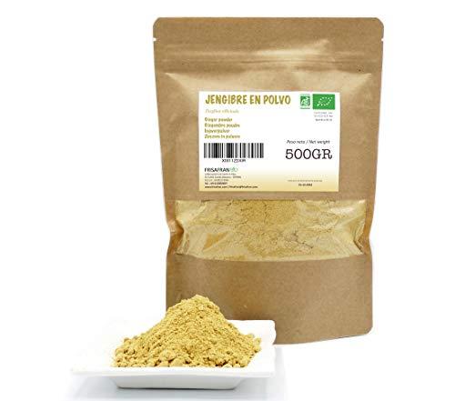 FRISAFRAN - Jengibre en polvo Ecológico (500Gr)