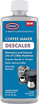Descaler (2 Uses Per Bottle) - Universal Descaling Solution for Keurig, Nespresso, Delonghi and All Single Use Coffee and Espresso Machines - Made in the USA