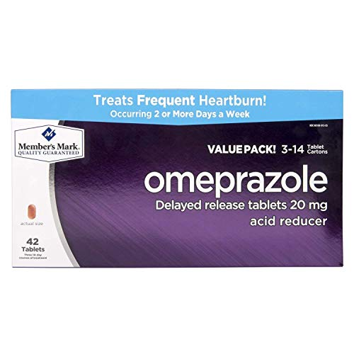 Member#039s Mark Omeprazole Acid Reducer 42 ct