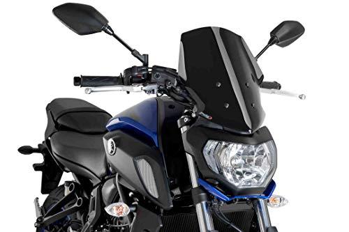 Puig Winds. New Generation Touring Yamaha MT-07 18- C/Black