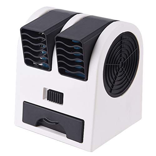 JTLB Mobile Air Conditioners 3in1 Air Cooler, Portable Mini Air Cooler Personal Air Conditioner Air Cooler Evaporative Cooler Cool Air Fan Ideal for work and at home