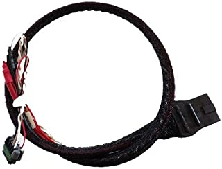 Western SnowEx Part # 48808 - Tornado, Poly Hopper Spreader Power and Ground 4 Pin Cable Assembly