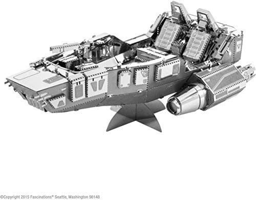 Fascinations Metal Earth MMS268 - 502663, Star Wars First Order Snowspeeder, Konstruktionsspielzeug, 2 Metallplatinen, ab 14 Jahren