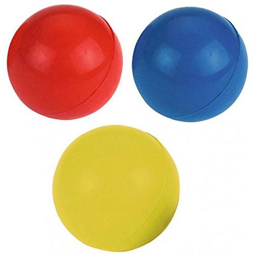 Kerbl Vollgummi Ball-farblich sortiert