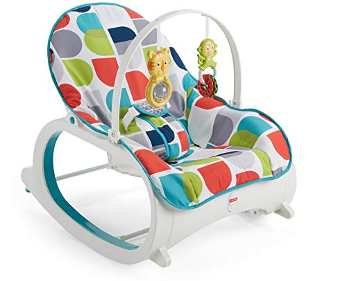 Fisher-Price Infant-to-Toddler Rocker, Color Climbers [Amazon Exclusive]