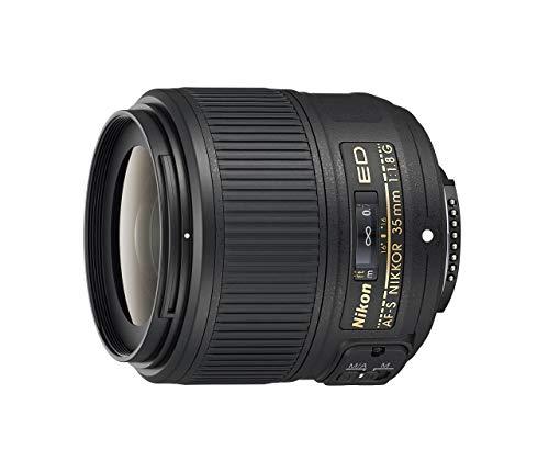 Nikon AF-S NIKKOR 35 mm f/1.8G ED obiettivo zoom fisso con messa a fuoco automatica per fotocamere Nikon DSLR (rinnovato)