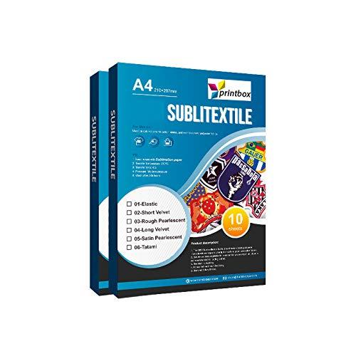 Sublitextile Short Velvet– plottbares Gewebe für Sublimation auf Baumwolle