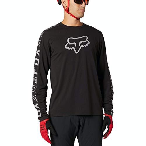 Fox Racing Herren Ranger DRI Release Long Sleeve Jersey Hemd, schwarz, X-Groß