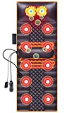 FEFCK Colchón De Masaje Térmico Cuerpo Entero Casa Masaje Manta Masaje De Columna Vertebral Cervical, Cuello, Cintura Y Respaldo Masaje Multifuncional Cojín