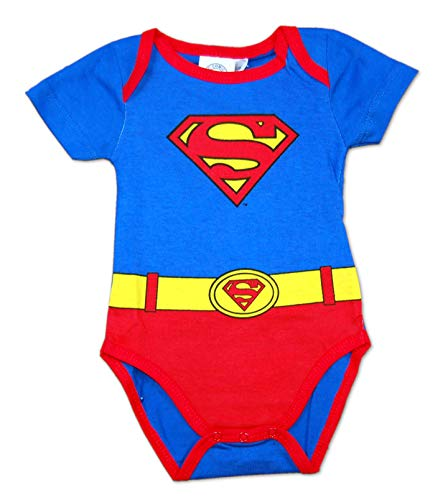 Body Traje Superman (Azul y Rojo, 18 Meses)