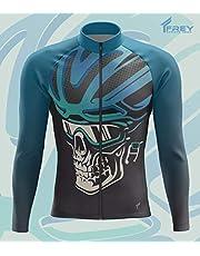 FreySport Skull Bisiklet Forması, Uzun Kol