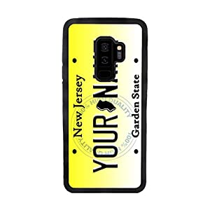 BleuReign(TM) Personalized New Jersey License State Plate TPU Rubber Silicone Phone Case Back Cover for Samsung Galaxy S9 Plus