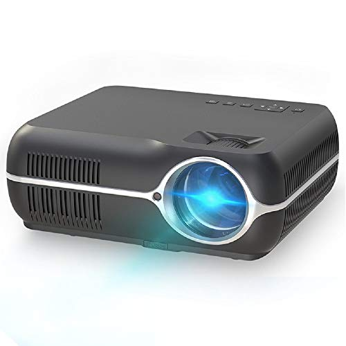 Mini Portable Pocket Projector with WiFi, Pico LCD Video Projector for Children Present,Home Theater,Game,Outdoor Entertainment with HDMI USB AV Micro SD Input and Remote Control