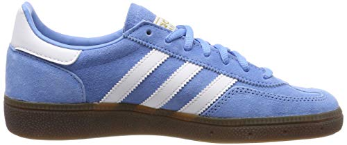 adidas Herren Handball Spezial Gymnastikschuhe Blau (Light Blue/FTWR White/Gum5), 44 EU - 6